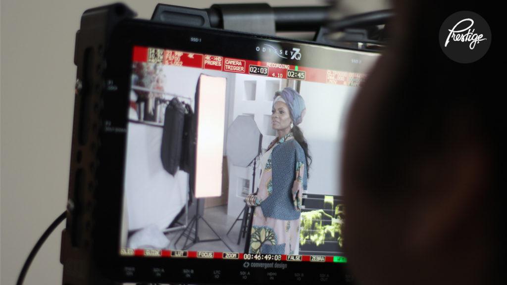Nicole C. Mullen Album Cover Shoot Video Screen